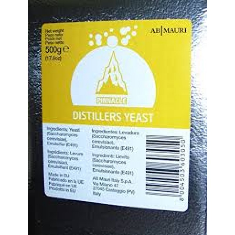 Спиртовые дрожжи Distillers Yeat 500 гр,  Италия
