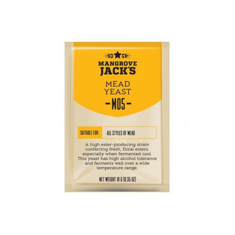 Дрожжи Mangrove Jack's M05 для медовой браги, медового вина и медовухи
