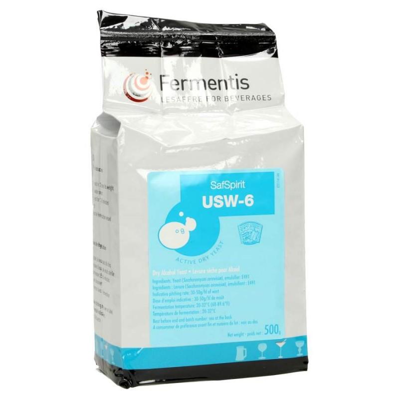 Дрожжи для бурбона Fermentis 1 гр (SafSpirit USW-6), Франция